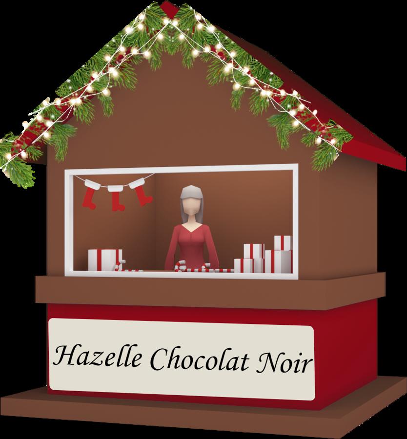 Hazelle Chocolat Noir